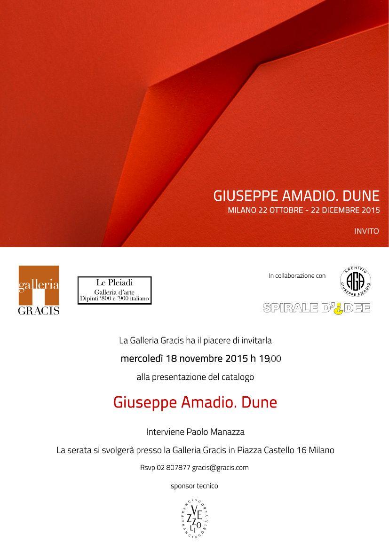 Giuseppe Amadio, Dune