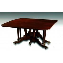 tavolo allungabile in mogano di Cuba