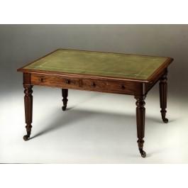 Tavolo scrittoio in mogano