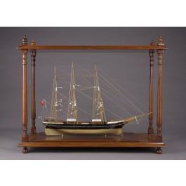 Modello in legno di un veliero
