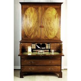Secretaire bookcase