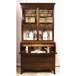 Secretaire Bookcase in mogano