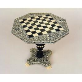 Tavolino in miniatura da gioco anglo-indiano