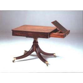 Tavolo libreria - drum table