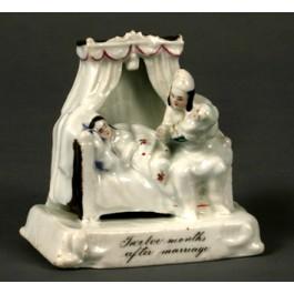 'Fairing group' in porcellana