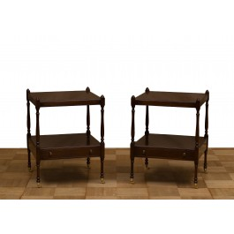 Due tavolini etagere