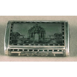 Snuff box in argento