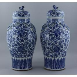 Paio di vasi periodo Quianlong