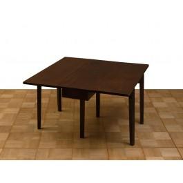 Tavolo in mogano ad alettoni