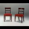 Set di sei sedie in mogano